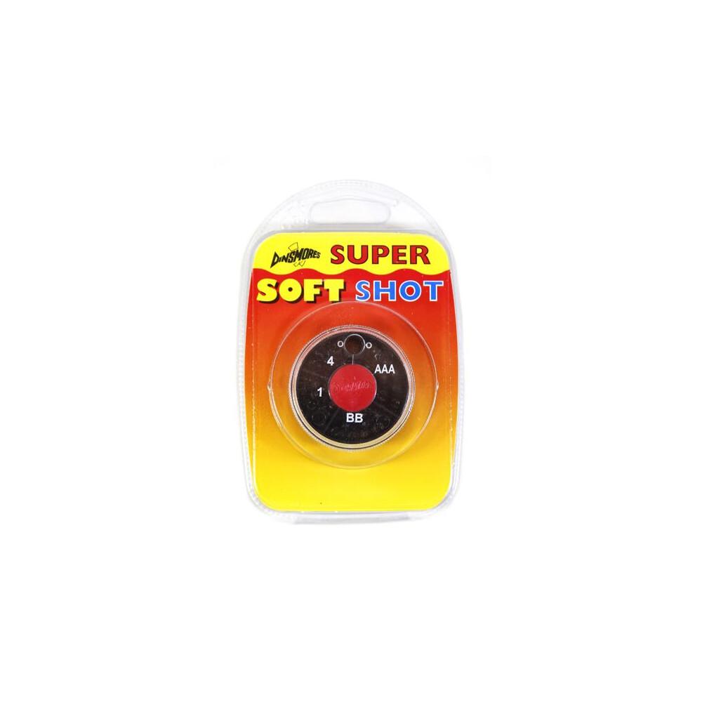 Dinsmores 4 Compartment Super Soft Shot Dispenser - AAA,BB,1,4 Black