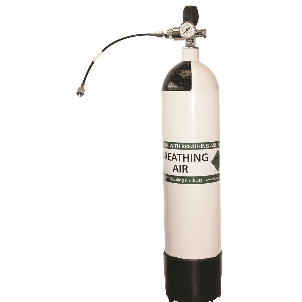 Bisley 300 Bar Air Cylinder White