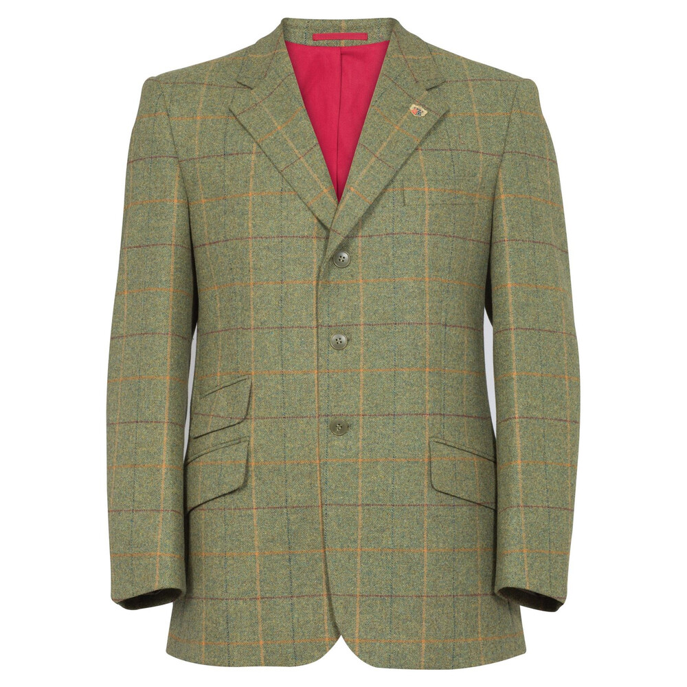 "Alan Paine Alan Paine Combrook Gents Action Back Blazer - Landscape - 40"" Chest"