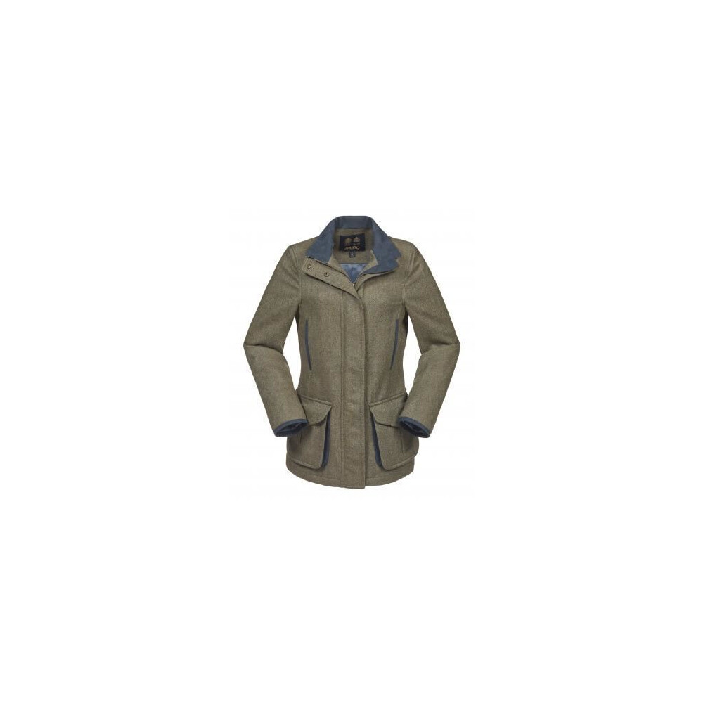 Musto Women's Stretch Technical Tweed Jacket - Etive Green