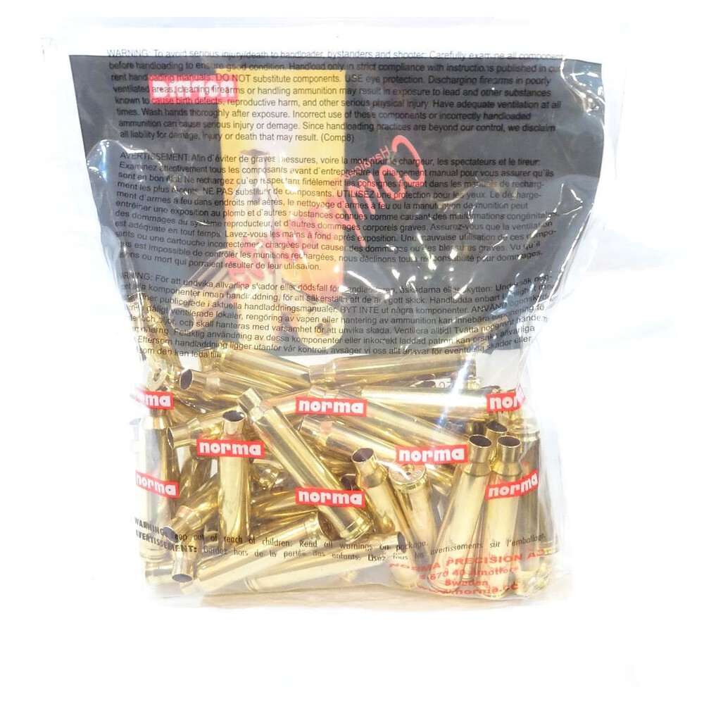 Norma .300 Win Mag Brass Cases x50
