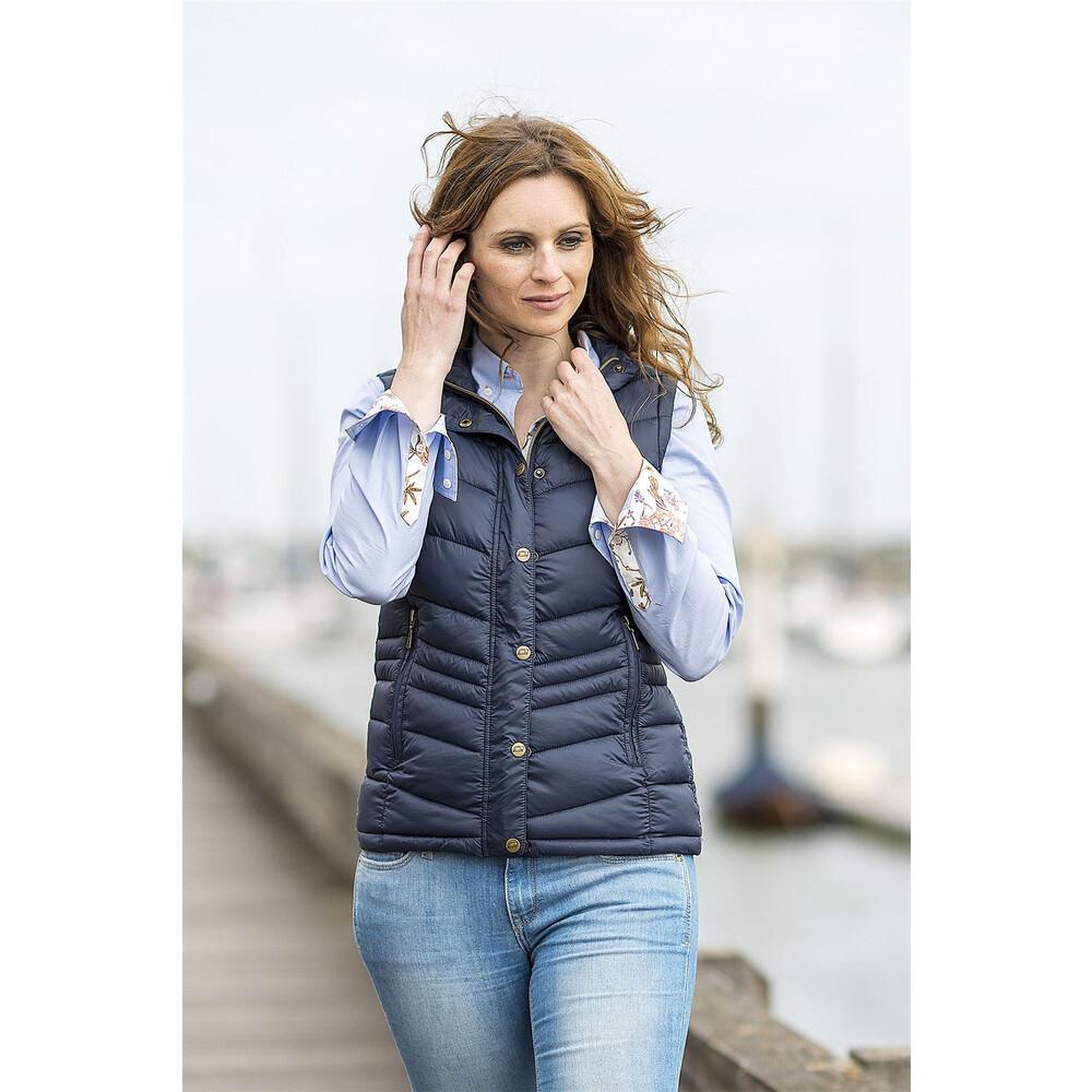 Baleno Astrid Ladies Gilet - Navy Blue