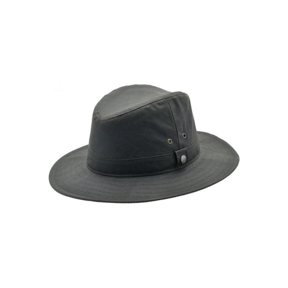 Schoffel Schoffel Welland Wax Hat - Dark Olive