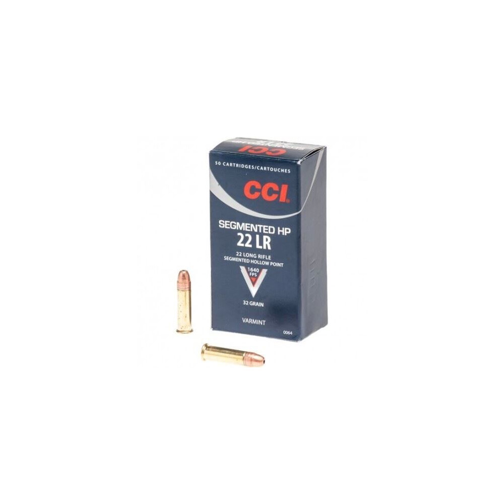 CCI .22LR Ammunition - 40gr - Subsonic Segmented HP Unknown