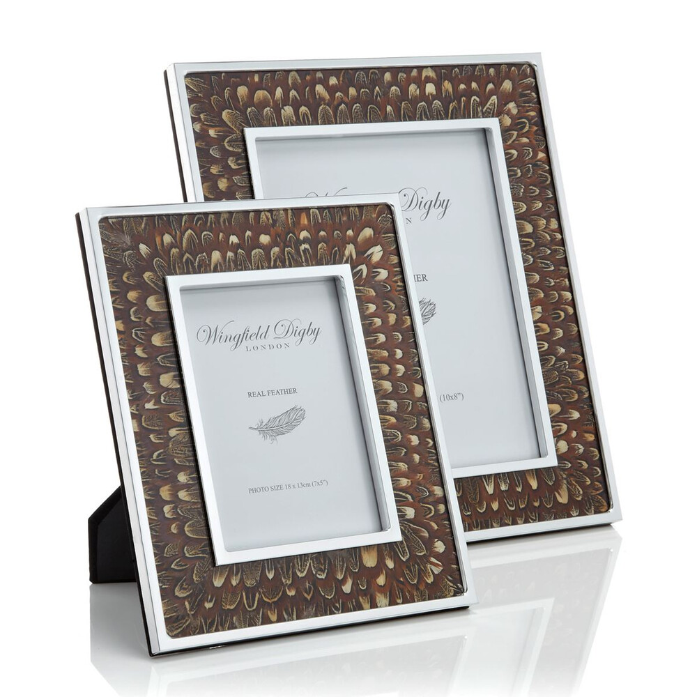 Wingfield Digby Wingfield Digby Photo Frame - Cock Pheasant Feather - 8 x 10""