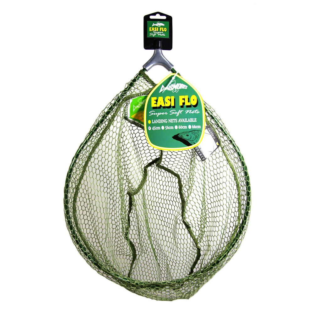 Dinsmores 2pc Handle & Easi Flo Landing Net - 60cm
