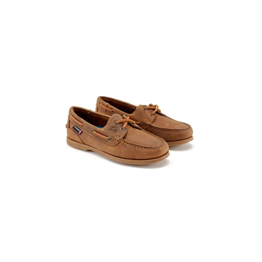 Chatham Deck Lady II G2 Boat Shoe Walnut