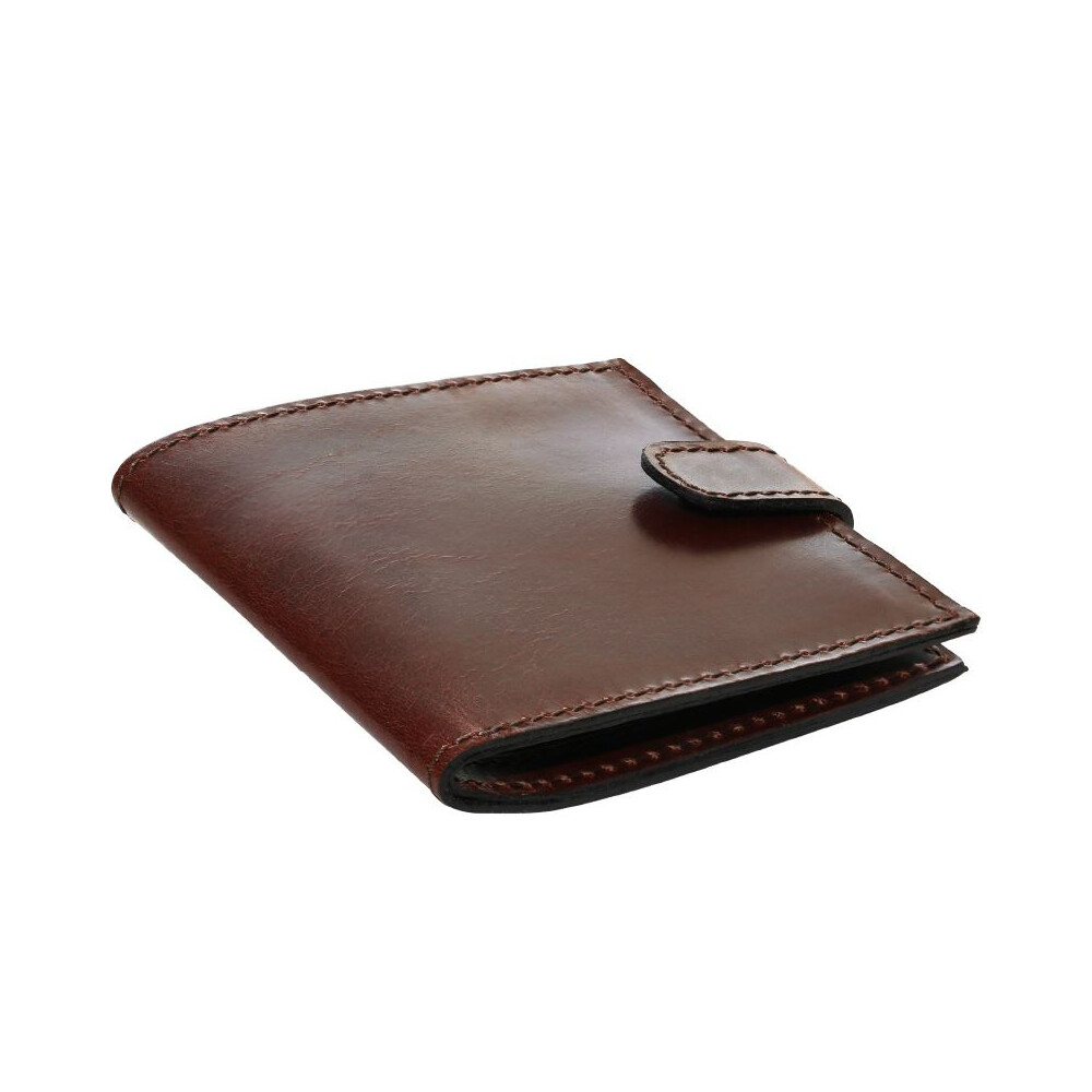 Teales Premier Leather Certificate Holder - Harness Brown - Single