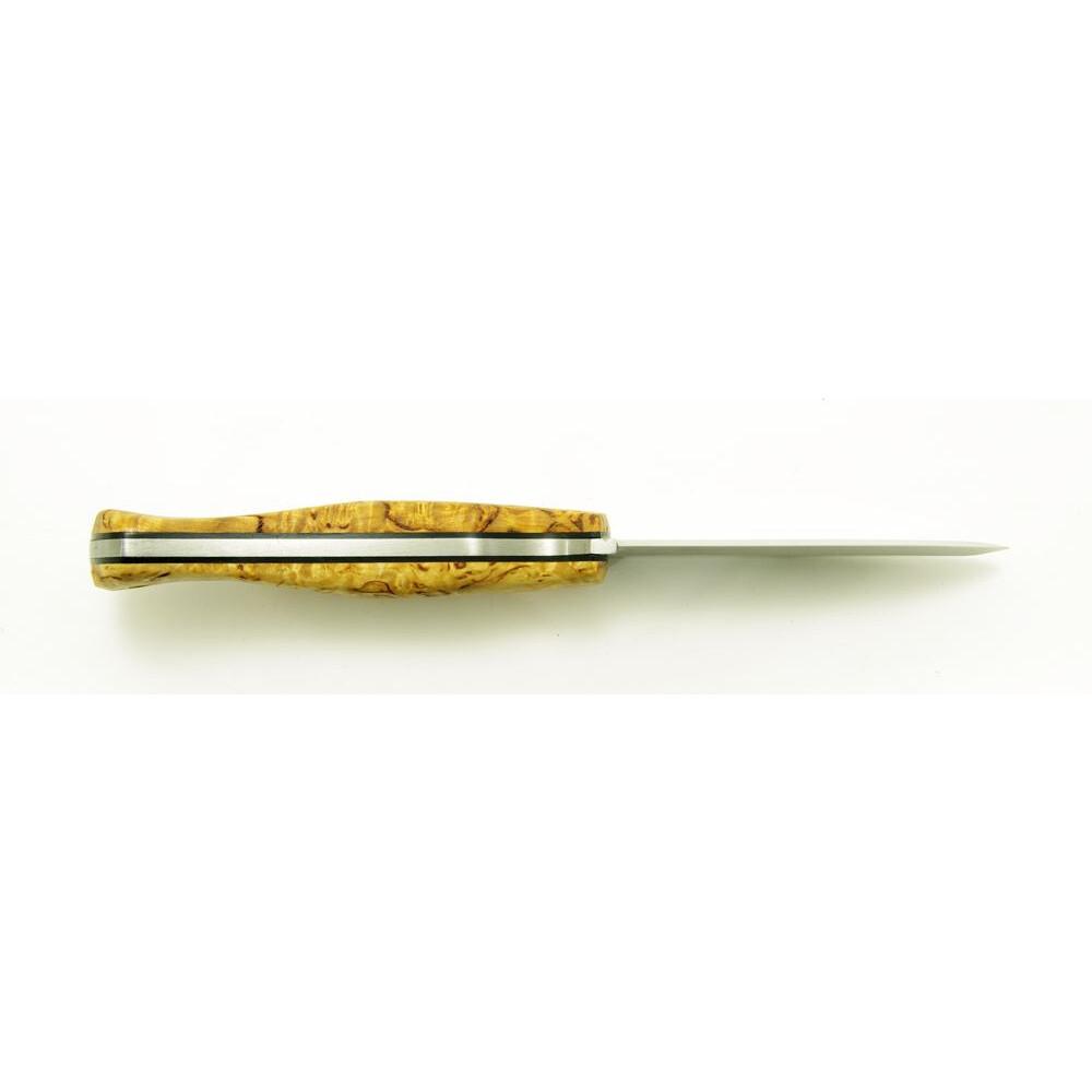 Casstrom New No.10 Swedish Forest Knife Curly Birch/Scandi Unknown