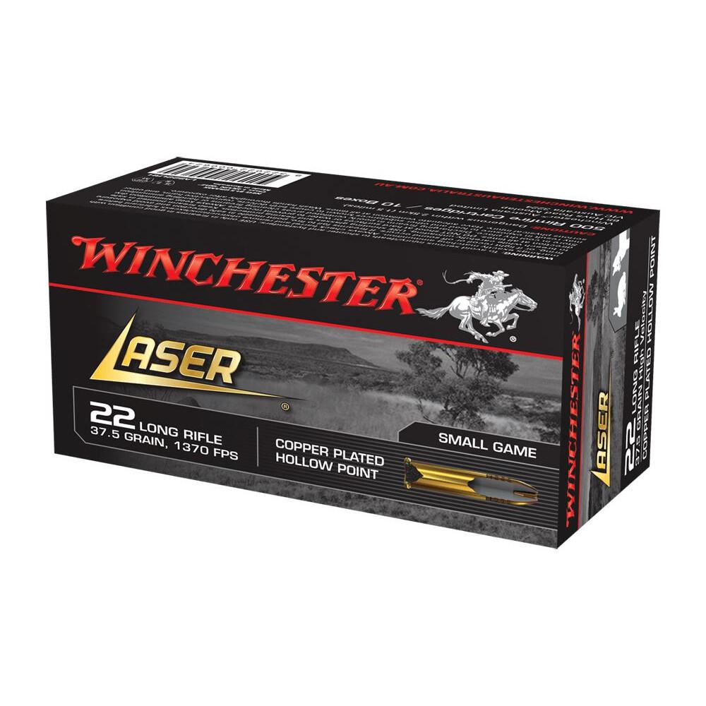 Winchester .22LR Ammunution - 37gr - High Velocity Hollow Point