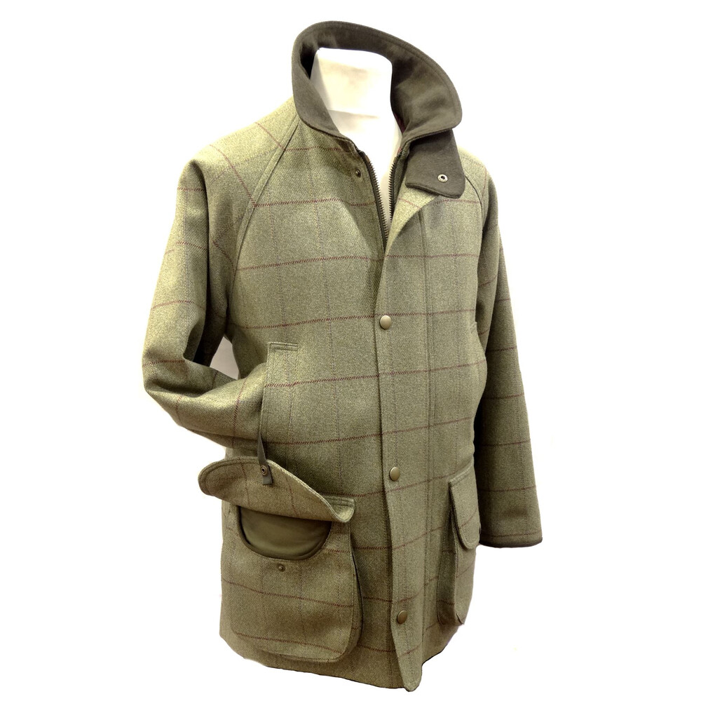 C.Currey Tweed Jacket - XL Moorland
