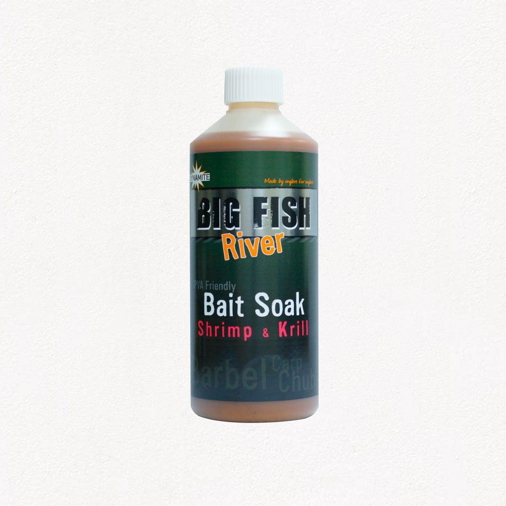 Dynamite Baits Big Fish River Bait Soak - Shrimp & Krill
