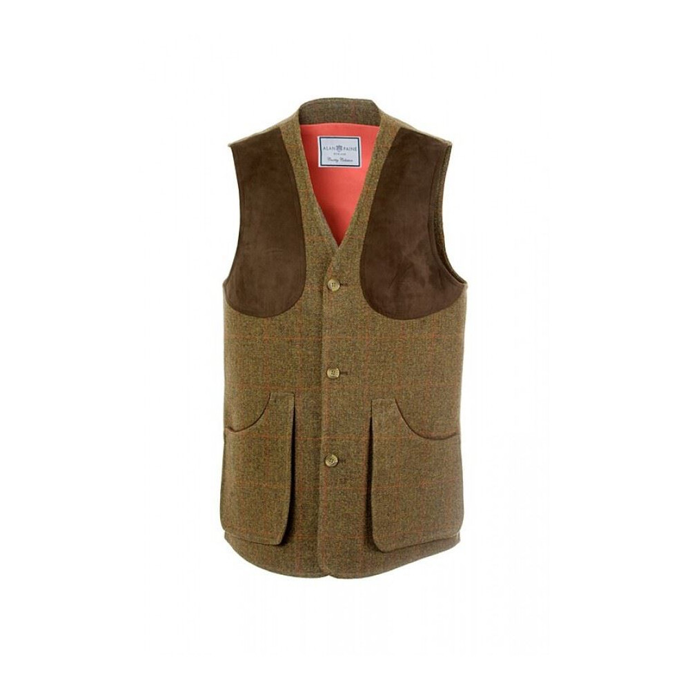 Alan Paine Alan Paine Combrook Waistcoat - Brown - Medium