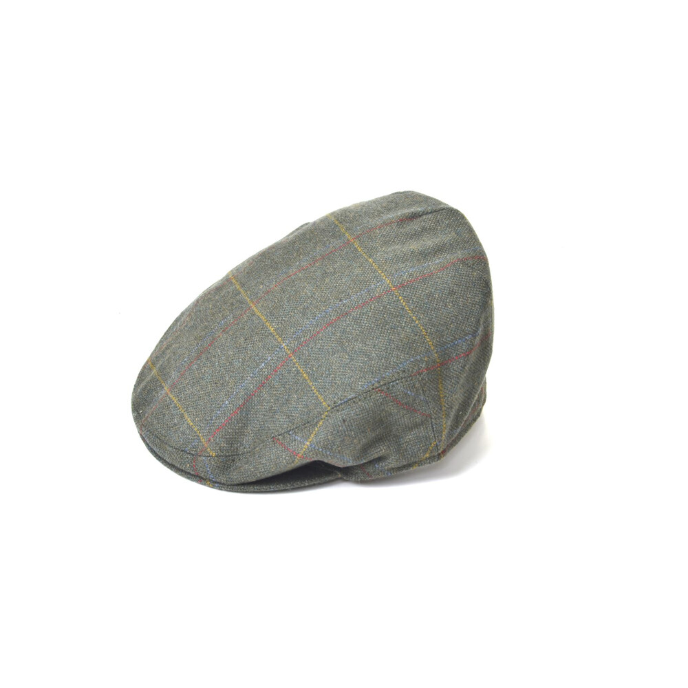 House of Cheviot Hawes Tweed Cap - 2012 Green
