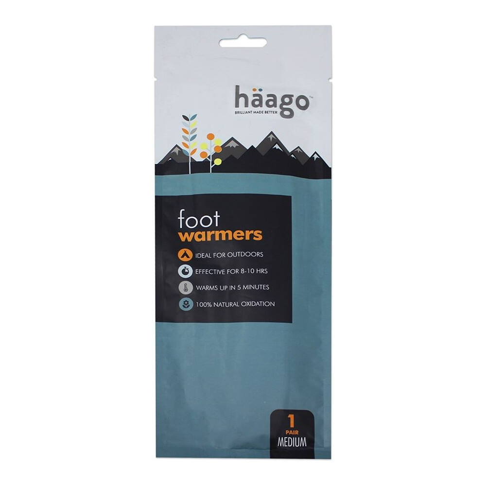 Haago Foot Warmer Insoles - Medium Unknown