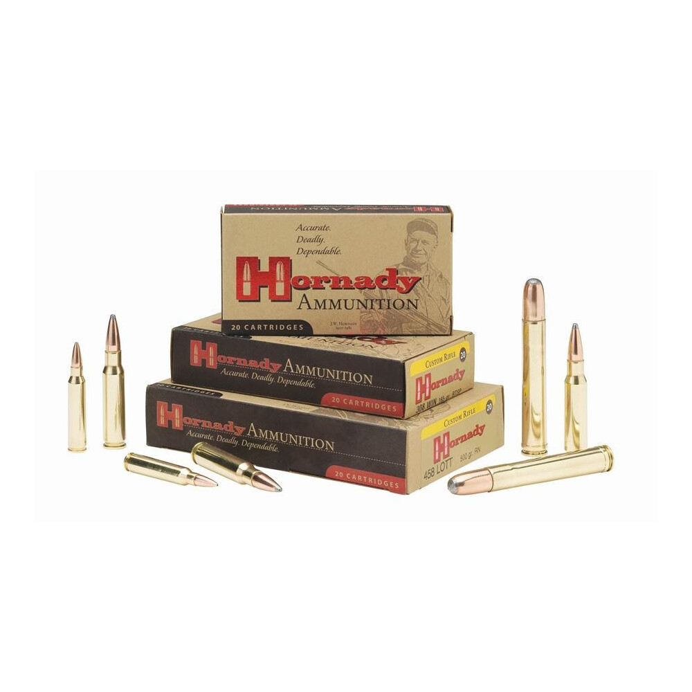Hornady .30-06 Ammunition - 180gr - Custom Soft Point Unknown