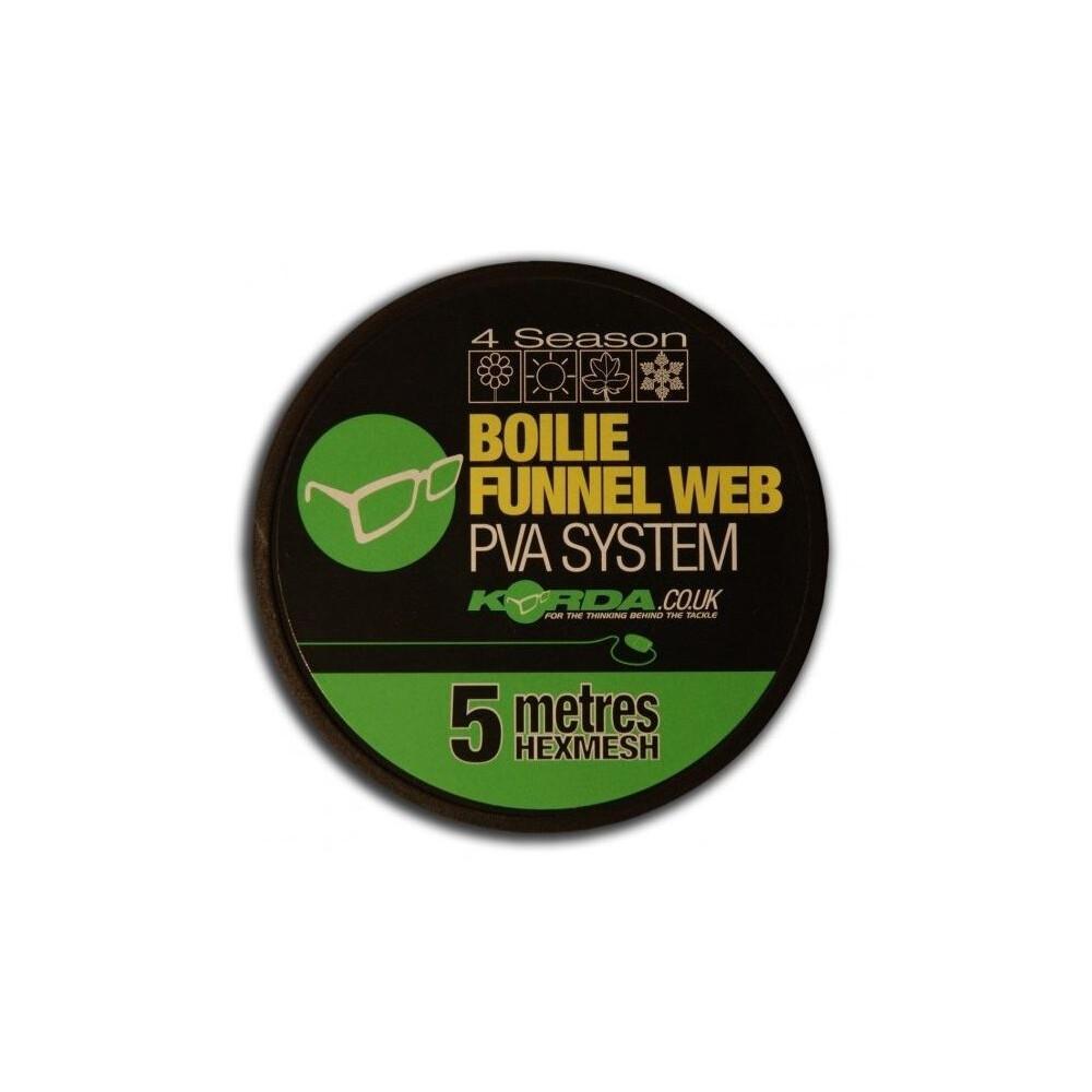 Korda Boilie Funnel Web Hexmesh PVA Refill - 5 Metres