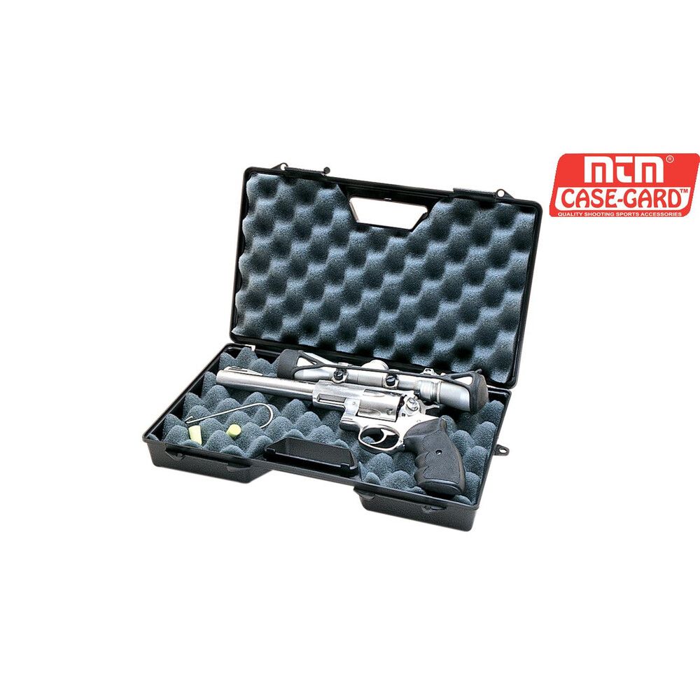 MTM Pistol Case - Model 808 Black