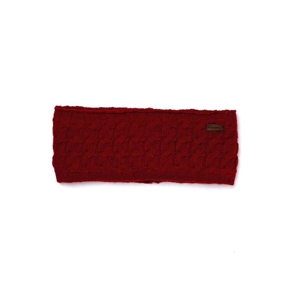 Dubarry Ballinrobe Headband - Cardinal - One Size Red
