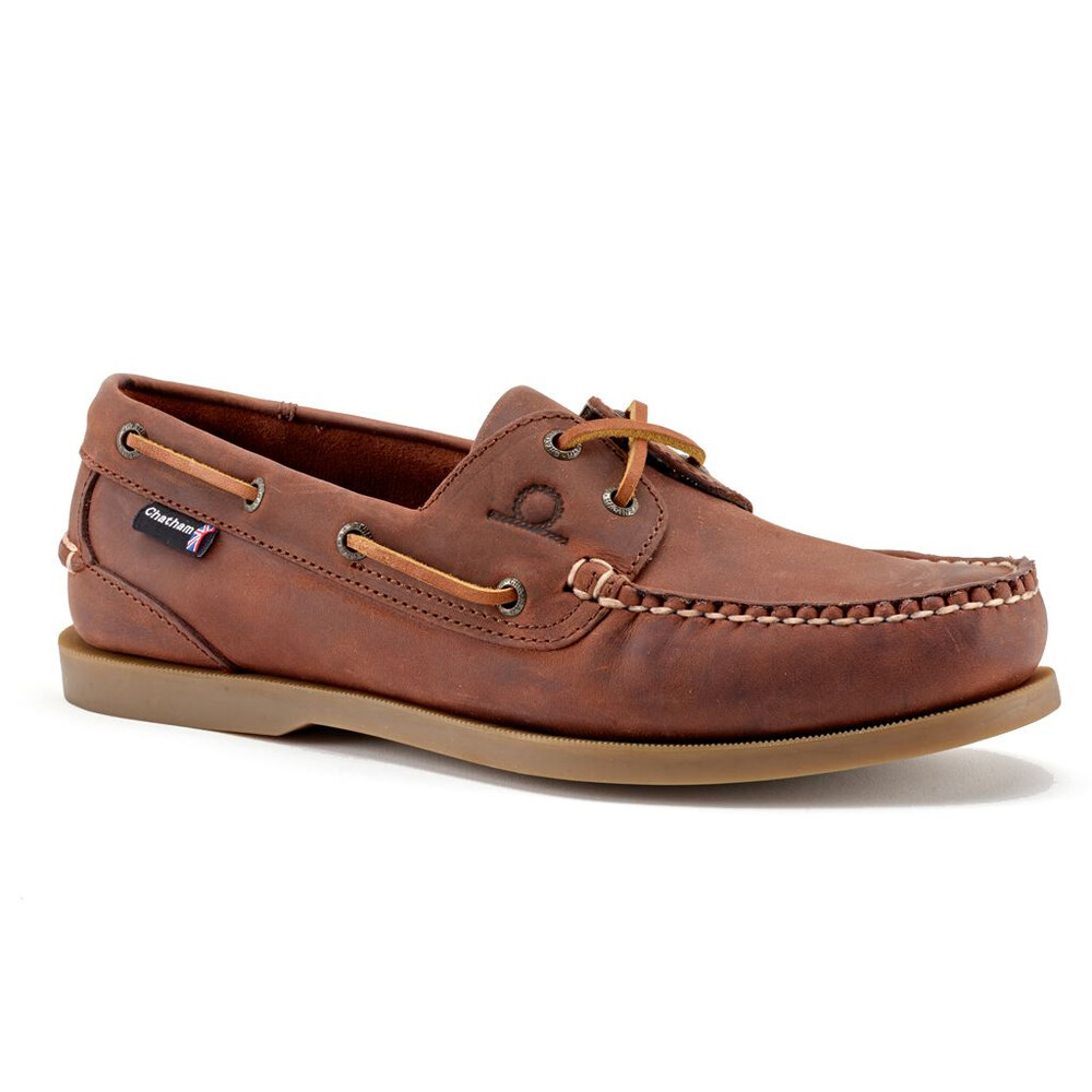 Chatham Chatham Deck II G2 Leather Boat Shoe