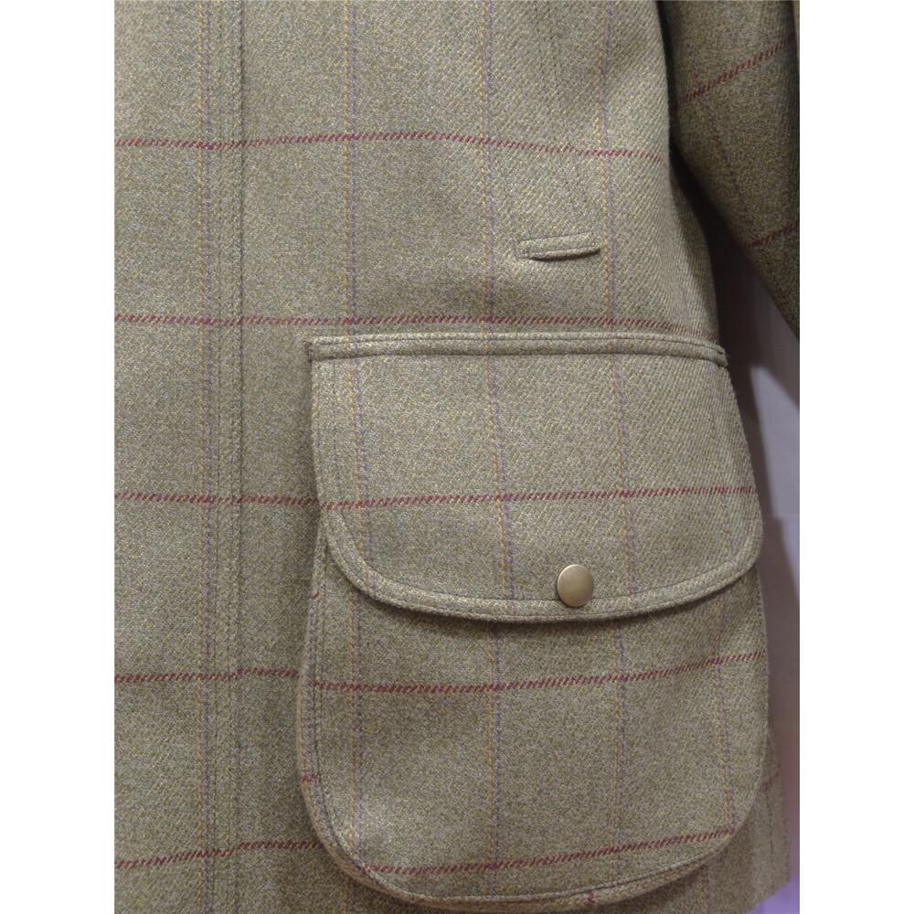 C.Currey Tweed Jacket - Moorland Green