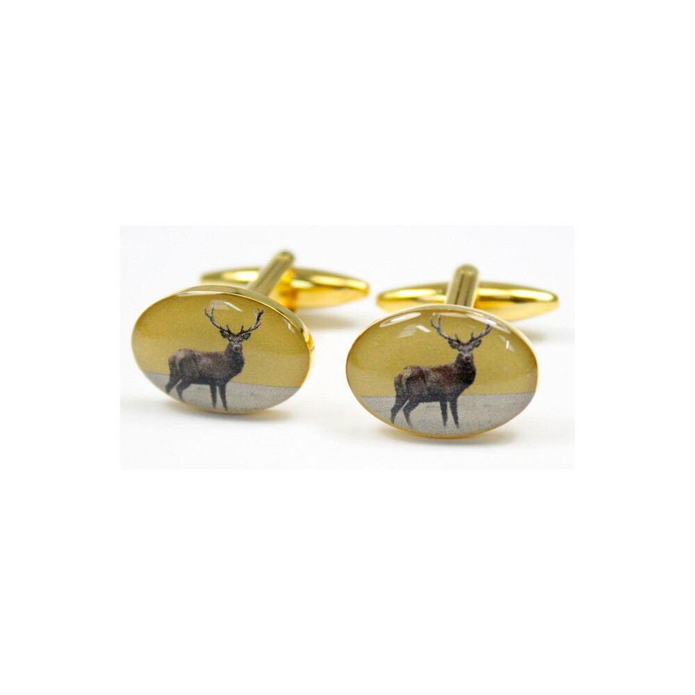 Soprano Country Cufflinks - Standing Stag Unknown
