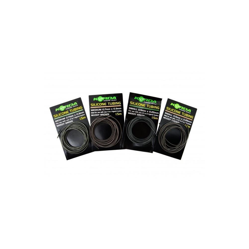 Korda Silicone Tubing - Weedy Green