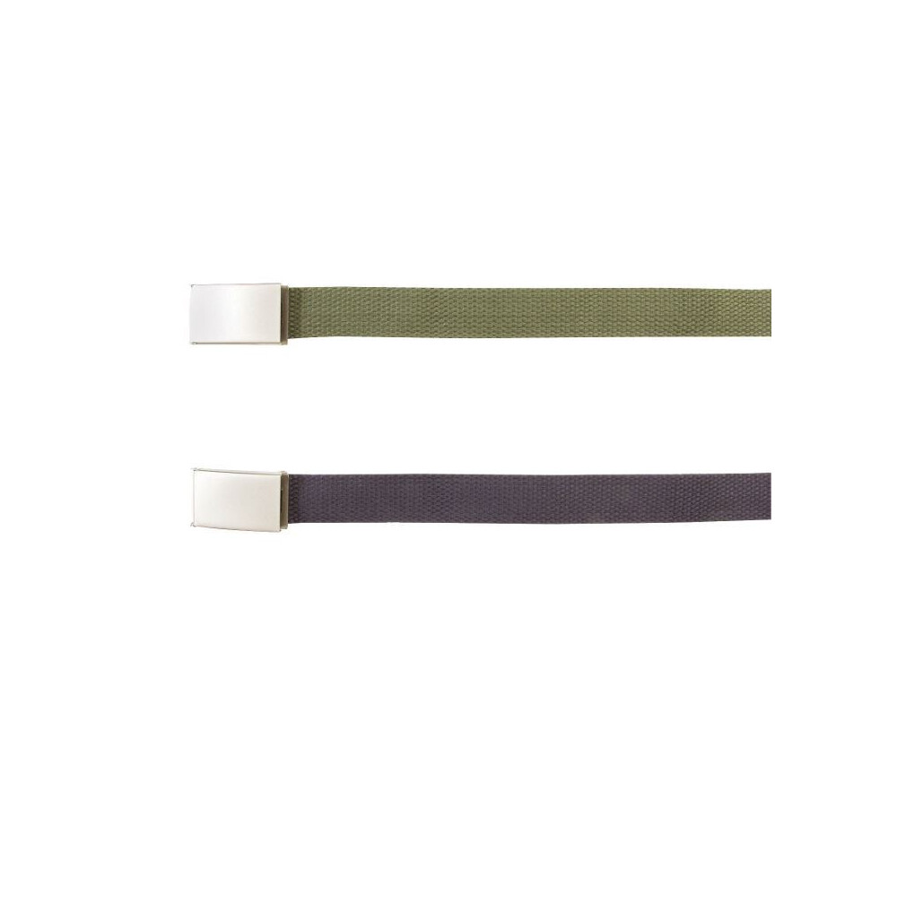 Mil-Com Mill-Com 40mm Cotton Web Belt - Green