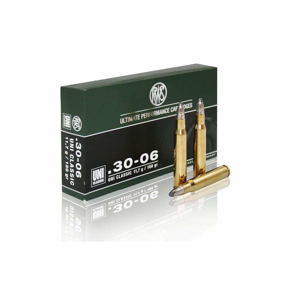 RWS .30-06 Ammunition - 180gr - Uni Classic