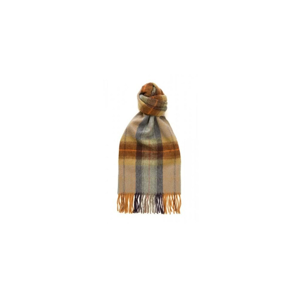 Murray Hogarth Hogarth Check Lambswool Scarf