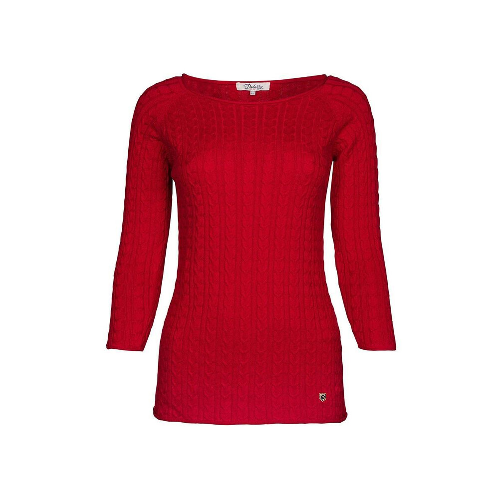 Dubarry Dubarry Caltra Sweater - Red - Size 10