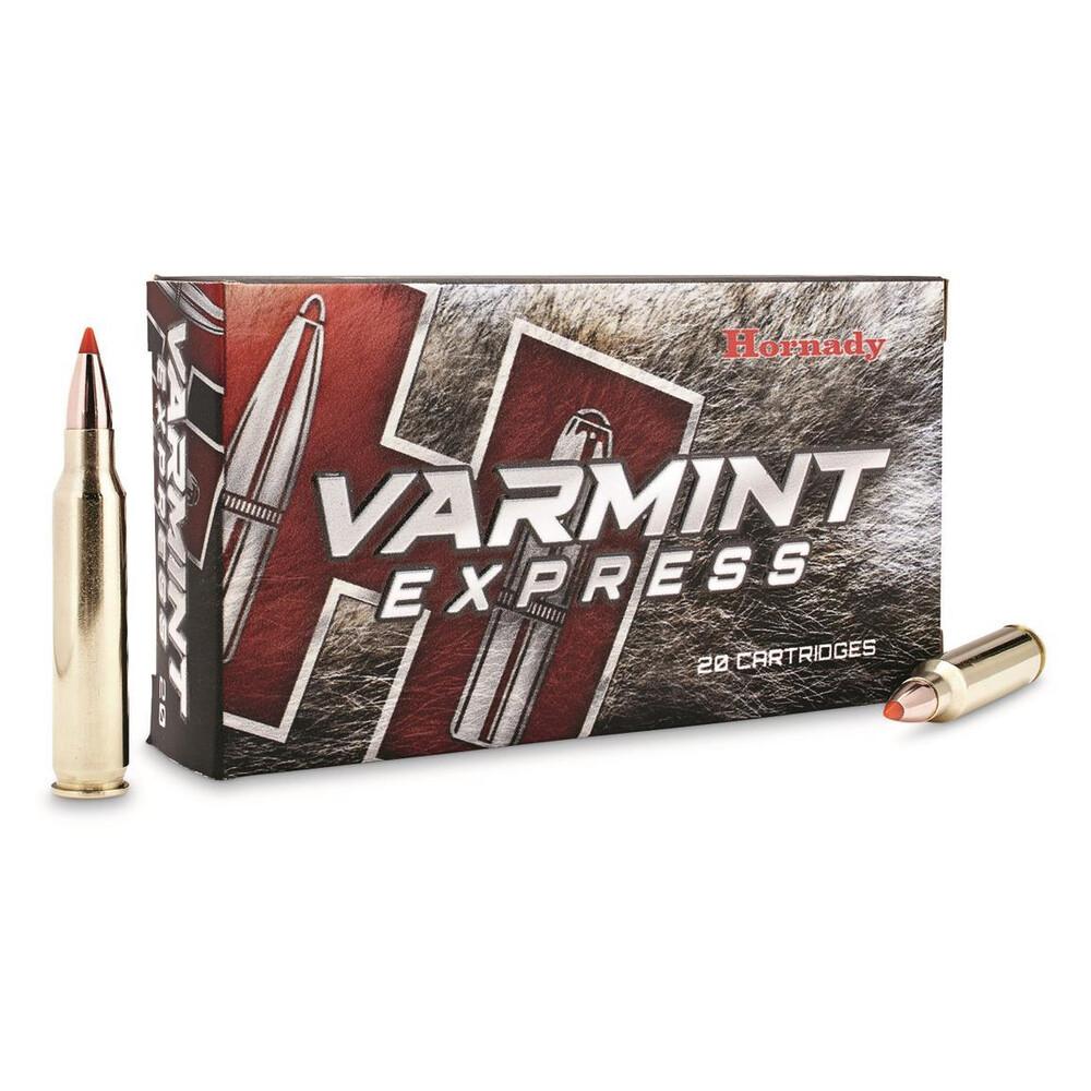Hornady .223 Ammunition - 55gr - Varmint Express V-Max Unknown