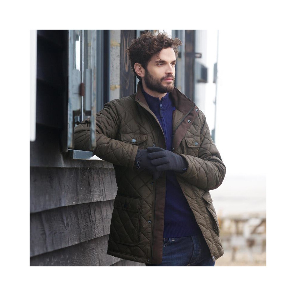 Jack Murphy Bill Quilted Jacket - Weather For Ducks Brown