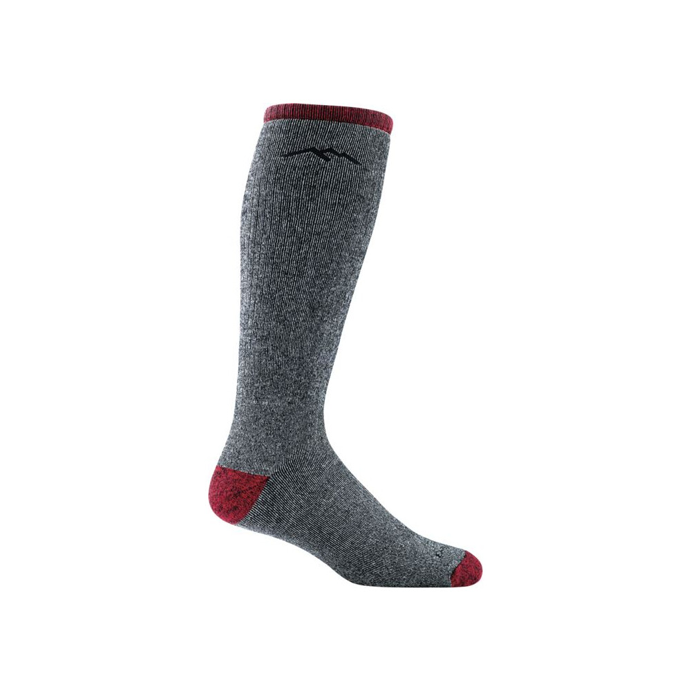 Darn Tough Darn Tough Mountaineering Over-The-Calf Extra Cushion Mens Sock - Smoke