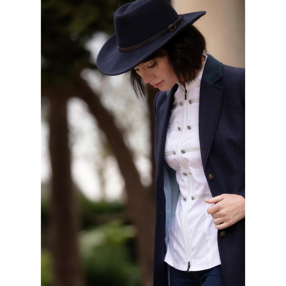 Welligogs Phoebe Frill Shirt White