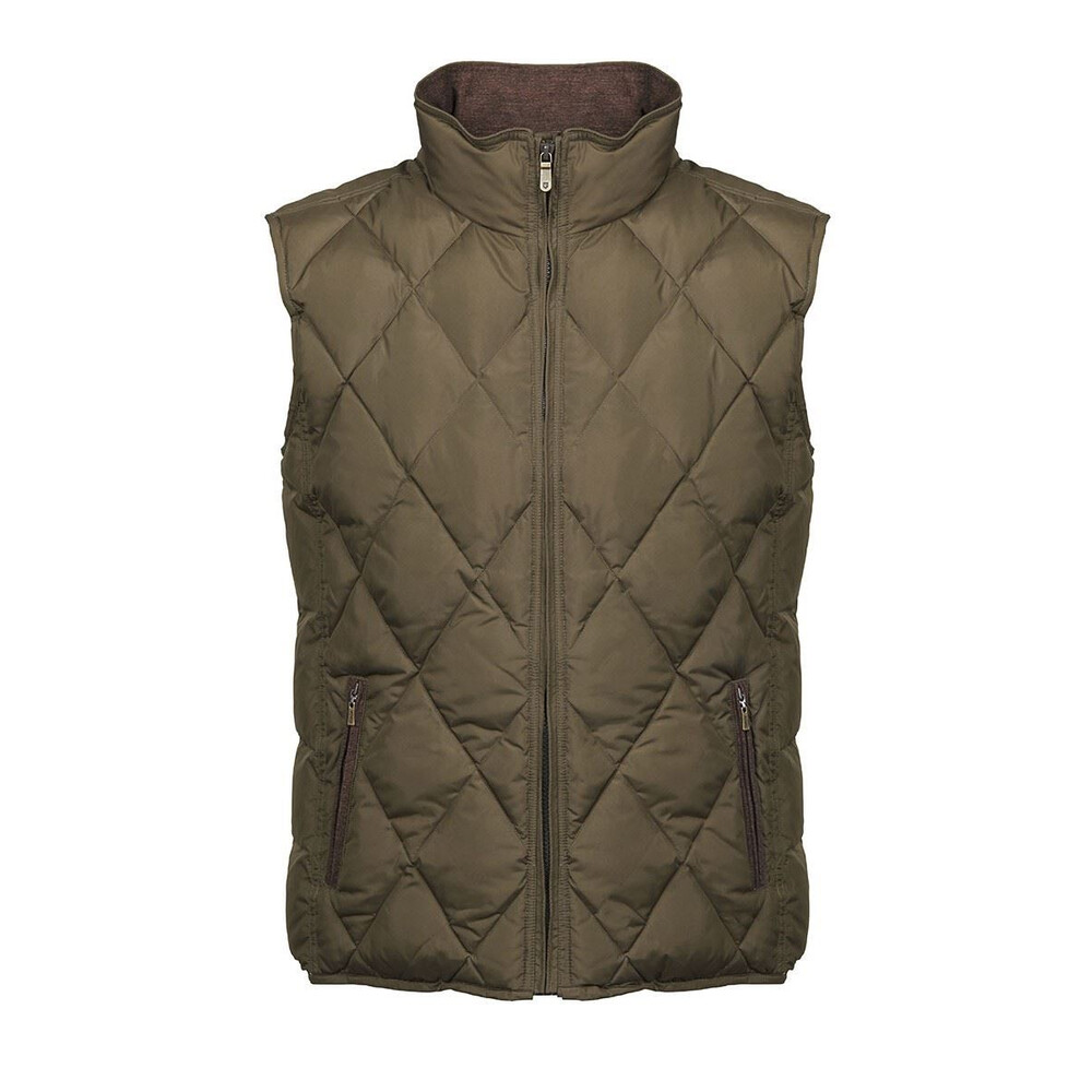 Dubarry Mulranny Quilted Gilet - Olive