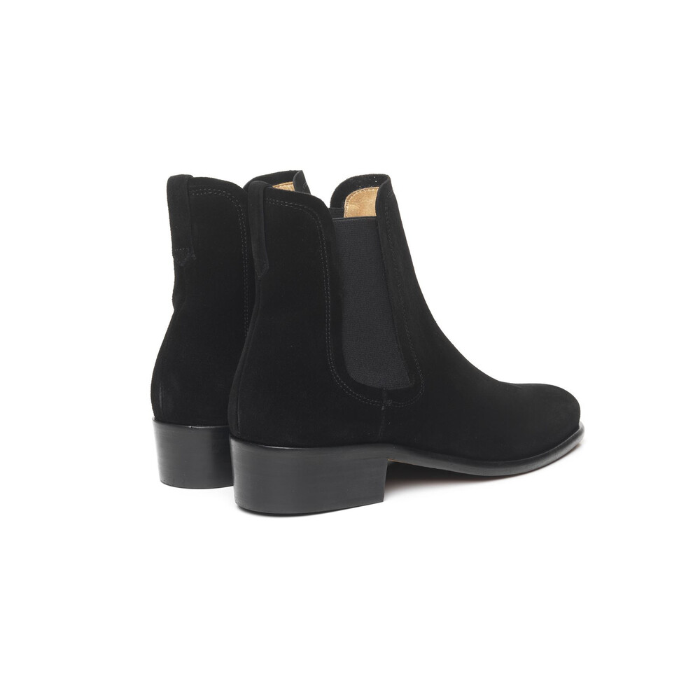 Fairfax & Favor Ladies Chelsea Boot - Black - Leather Sole - UK 4 EU 37 Black