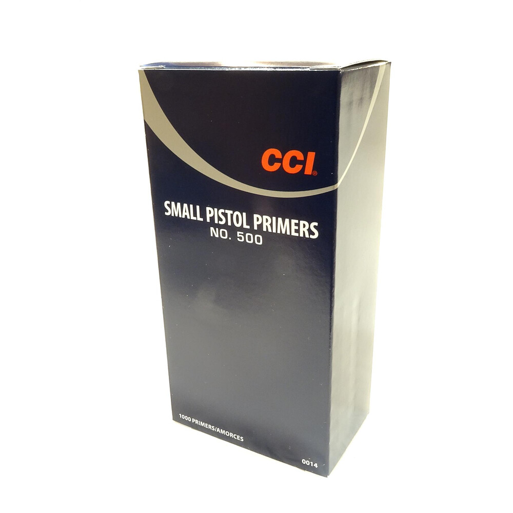 CCI Primers - #500 Standard Small Pistol - Pack of 1000
