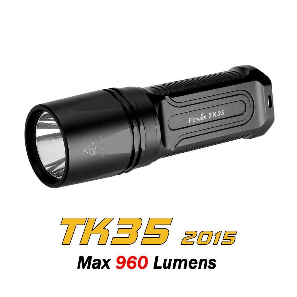 Fenix TK35 XM-LU2 Torch - 2015 Edition Black