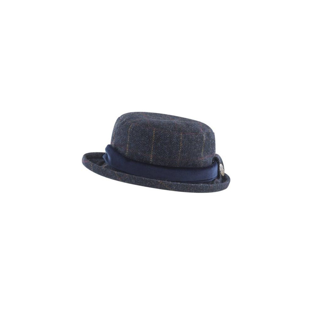Jack Murphy Jack Murphy Lexington Tweed Hat - Golden Navy Wonder