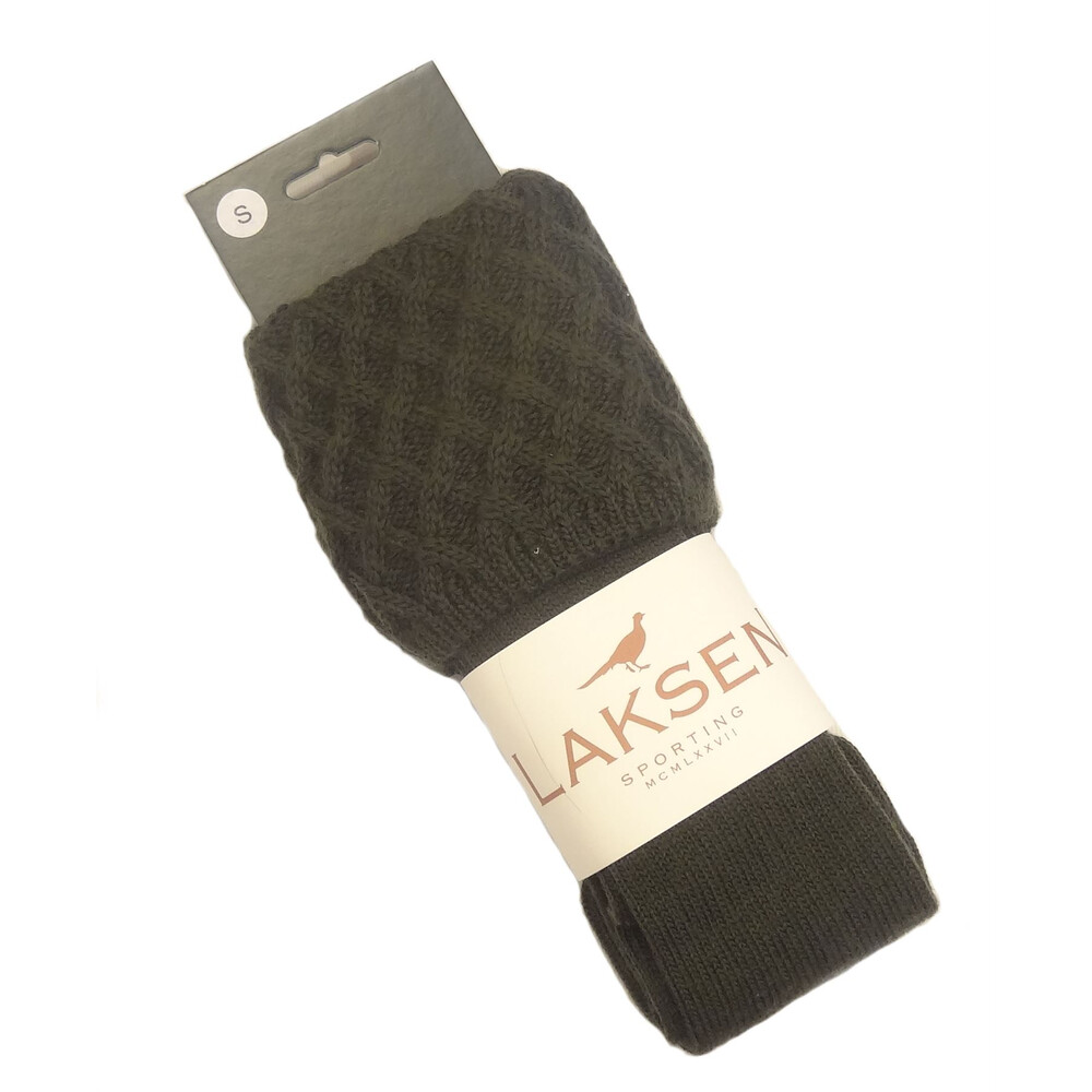 Laksen Lady Windsor Socks - British Racing Racing Green