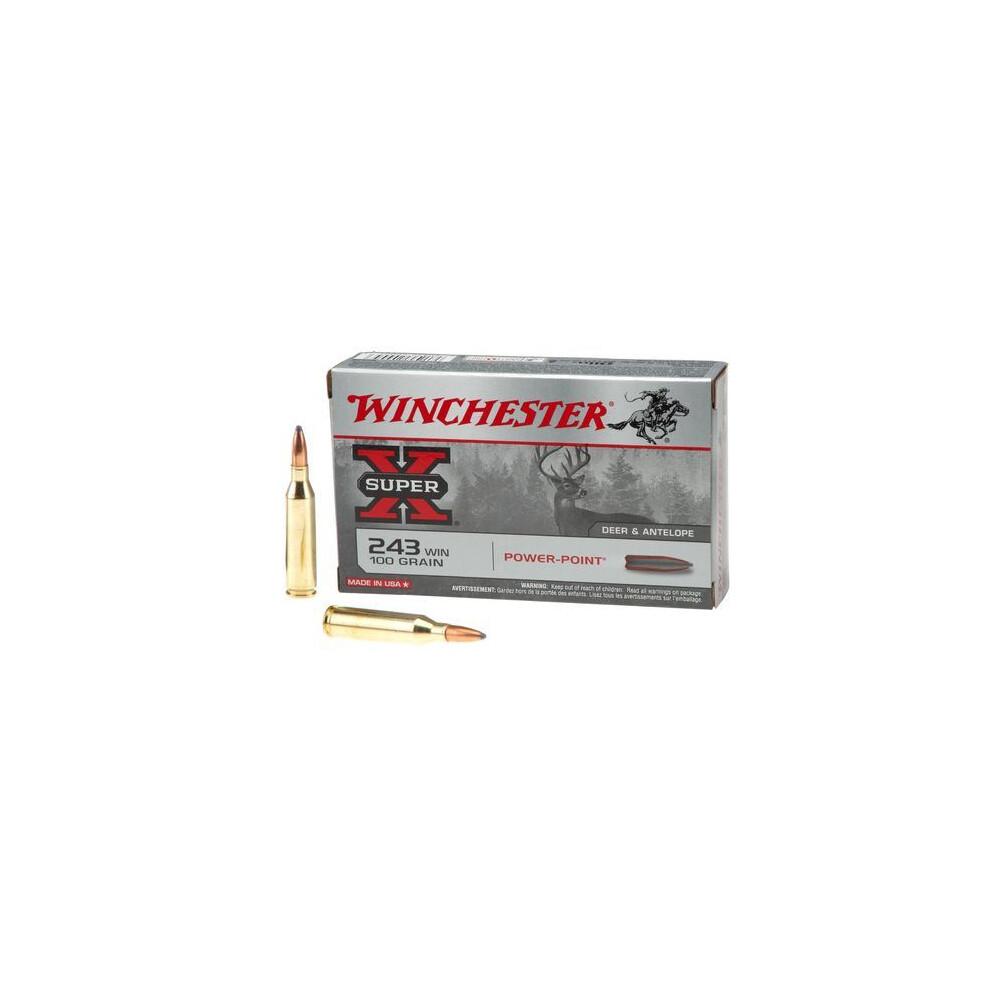 Winchester .243 Ammunition - 100gr - Super X