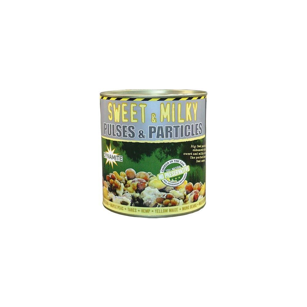 Dynamite Baits Frenzied Sweet & Milky Pulses & Particles 700g