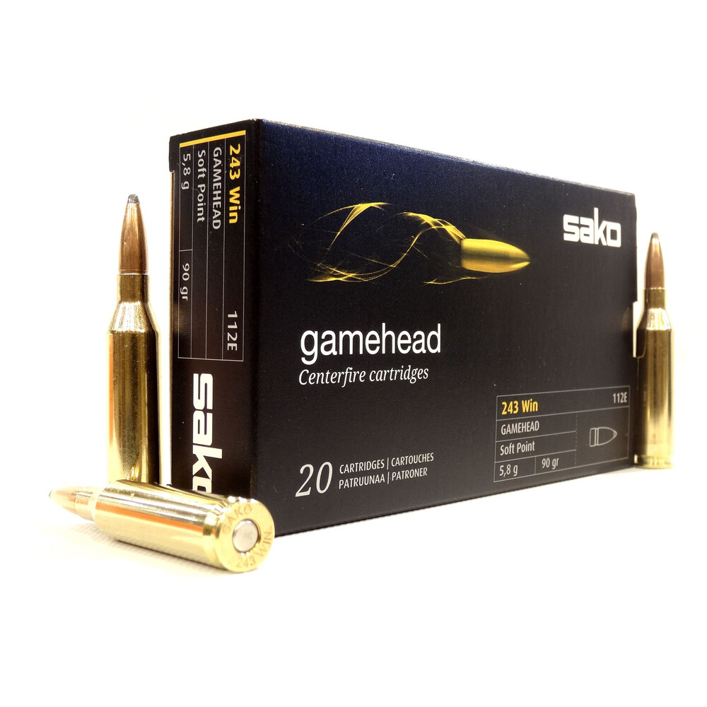 Sako .243 Ammunition - 90gr - Gamehead