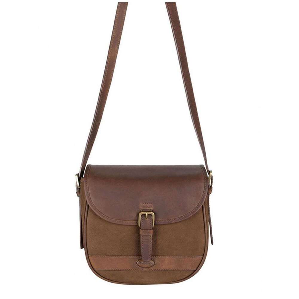 Dubarry Dubarry Clara Saddle-Style Leather Bag - Walnut