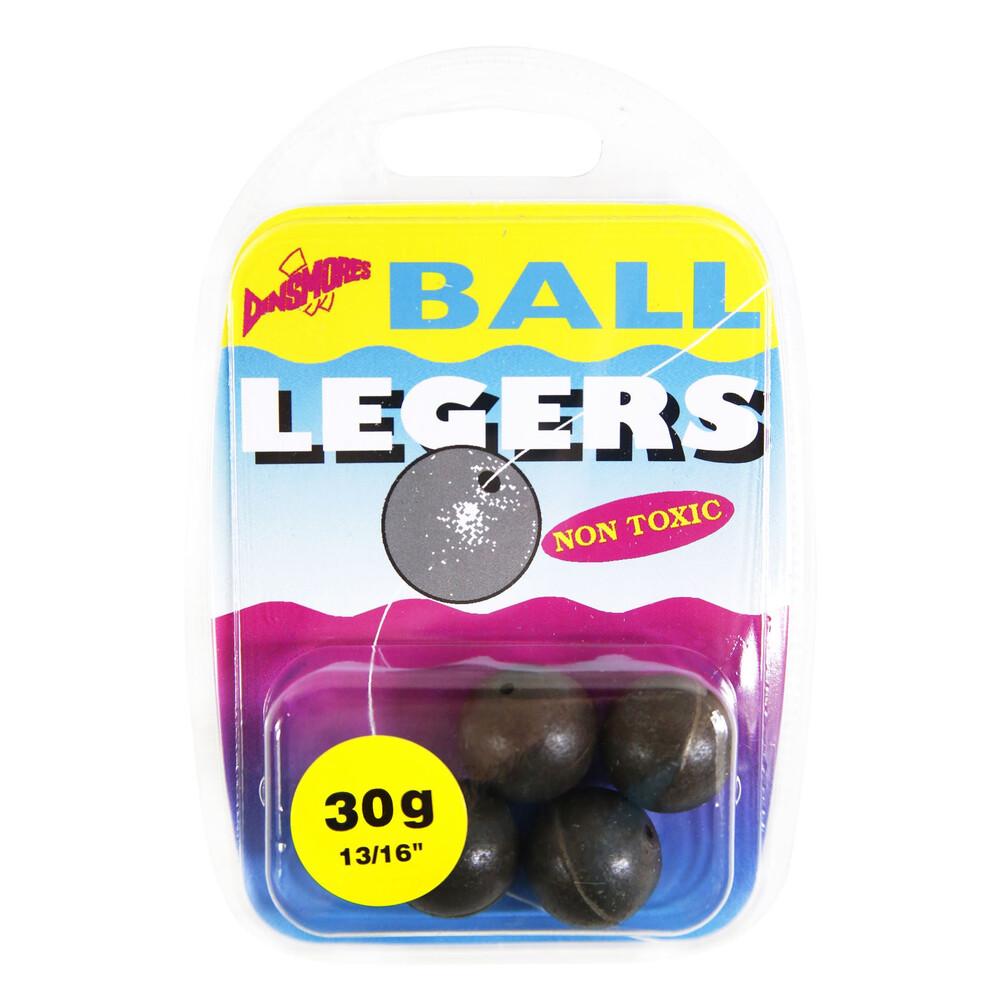 Dinsmores Ball Legers - 9g - Pack of 8