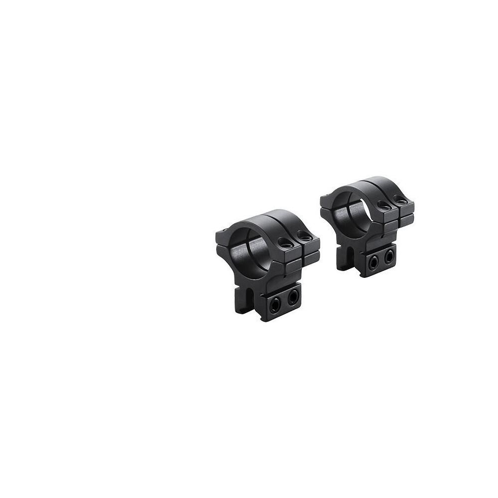 "BKL Double Strap Scope Mounts - 9-11mm Dovetail - 1"" Medium"