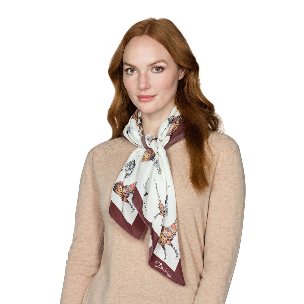 Dubarry Tullynally Scarf - Pheasant Multi