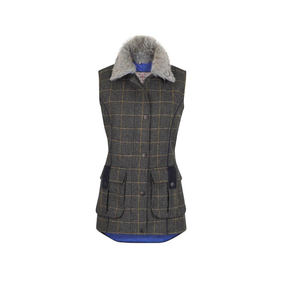 Jack Murphy Jack Murphy Jilly Tweed Gilet - Country