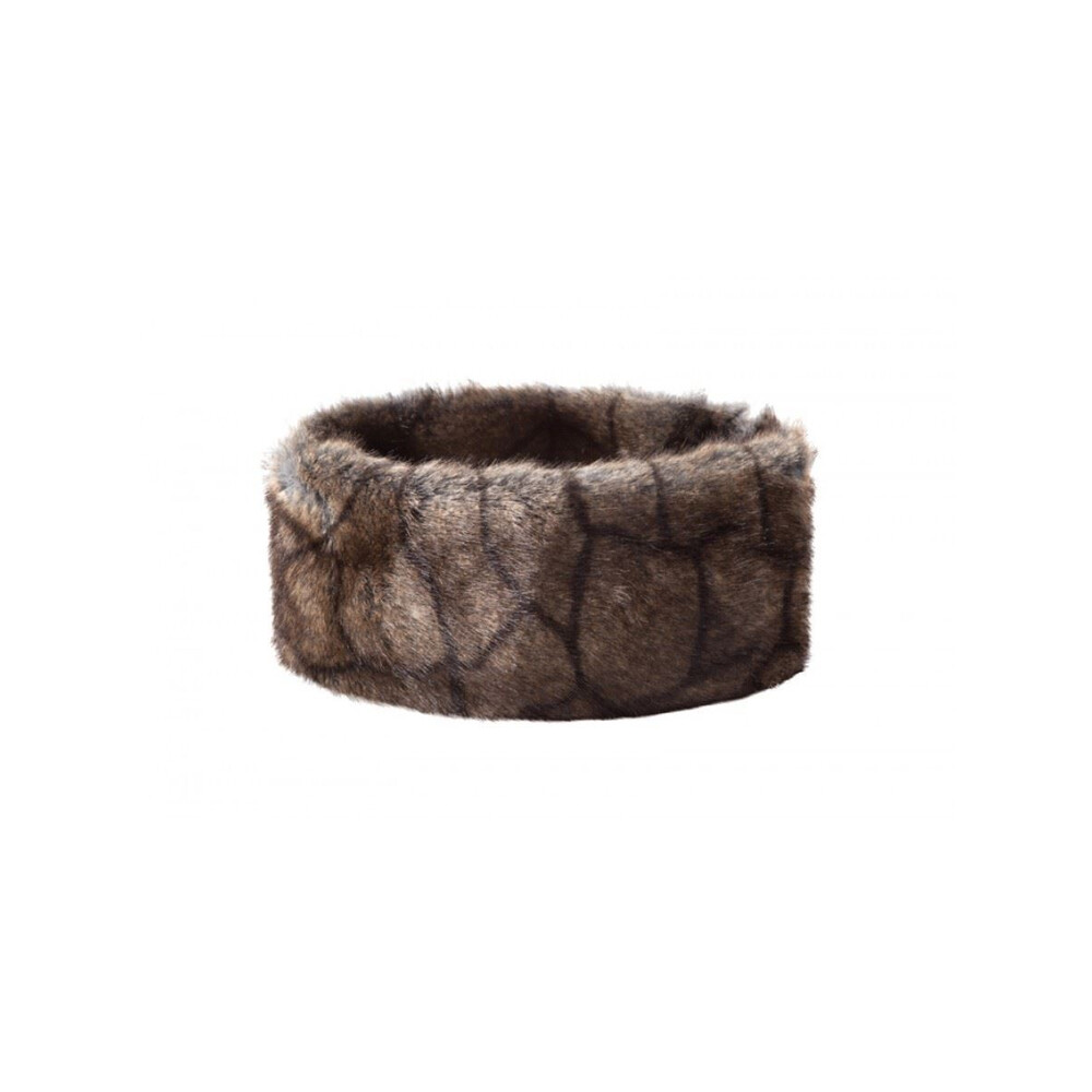 Dubarry Faux Fur Headband Brown